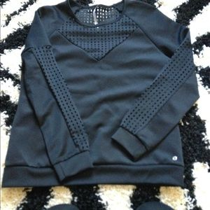 Fabletics sweatshirt with mesh